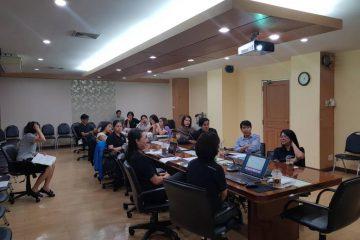 การอบรมเพื่อเตรียมความพร้อมในการดำเนินโครงการวิจัย HPTN083